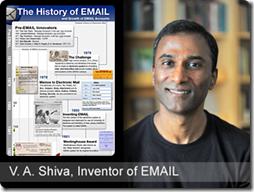 VA Shiva Email inventor