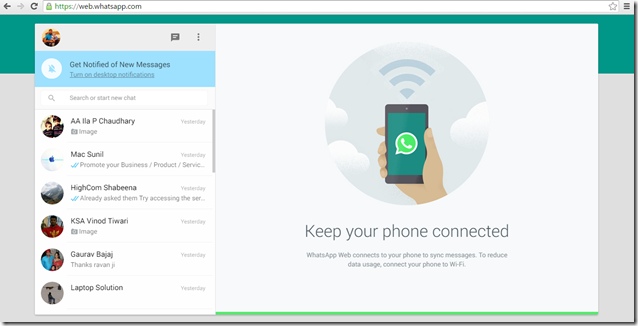 WhatsApp Comes To The Desktop Look