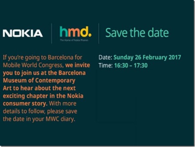 Nokia 3310 Comeback Nokia-HMD Invite