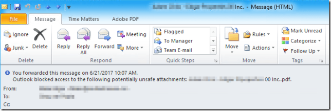 Outlook-blocked-potential-unsafe-attachments