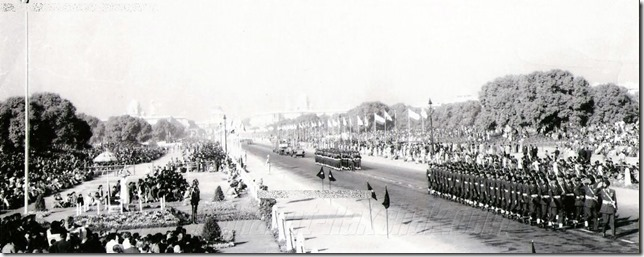 Rare Photos of First Indian republic day celebrations on 26 Jan 1950