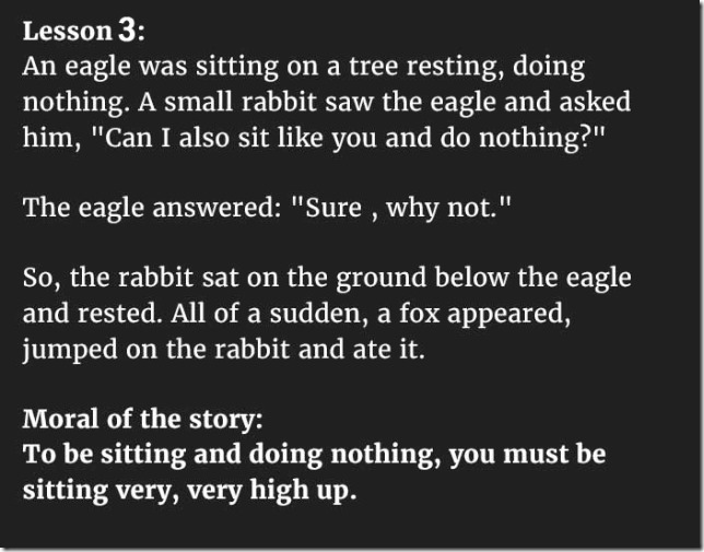 5 Hilarious Fables Teach Valuable Lessons That Everyone Should Know 03